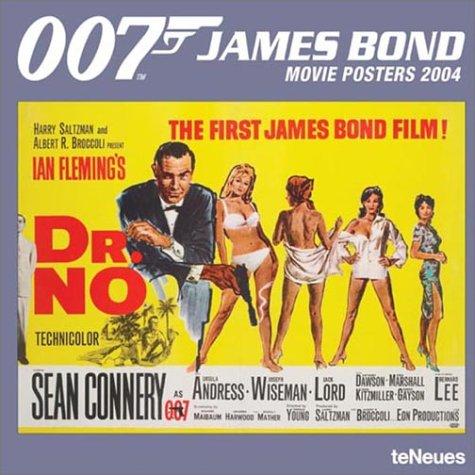 2004 Poster Calendar - James Bond Movie Posters 2004 Calendar
