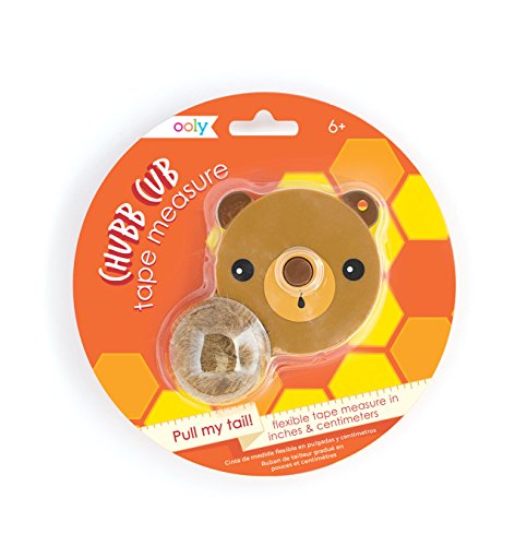 Ooly Pull My Tail Measuring Tape - Chubb Cub