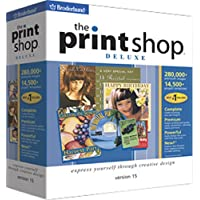The Print Shop Deluxe 15  [OLD VERSION]