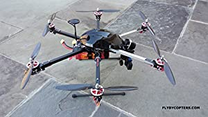 Thermal Imaging HexaCopter Drone With AutoPilot by FlyByCopters