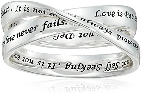 Sterling Silver Engraved with