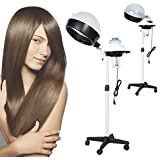 Professional Hair Steamer Salon Color Processor, Portable Stand Hair Dryer with Wheels
