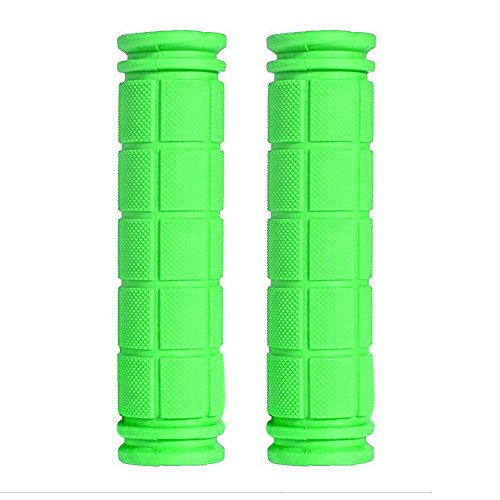 Soft BMX MTB Cycle Mountain Bicycle Bike Handle bar Rubber End Green