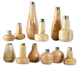 ToolUSA Maplewood Graver Handles Set: TJ01-09195