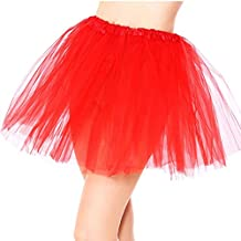 Simplicity Women's Classic Elastic, 3-Layered Tulle Tutu Skirt