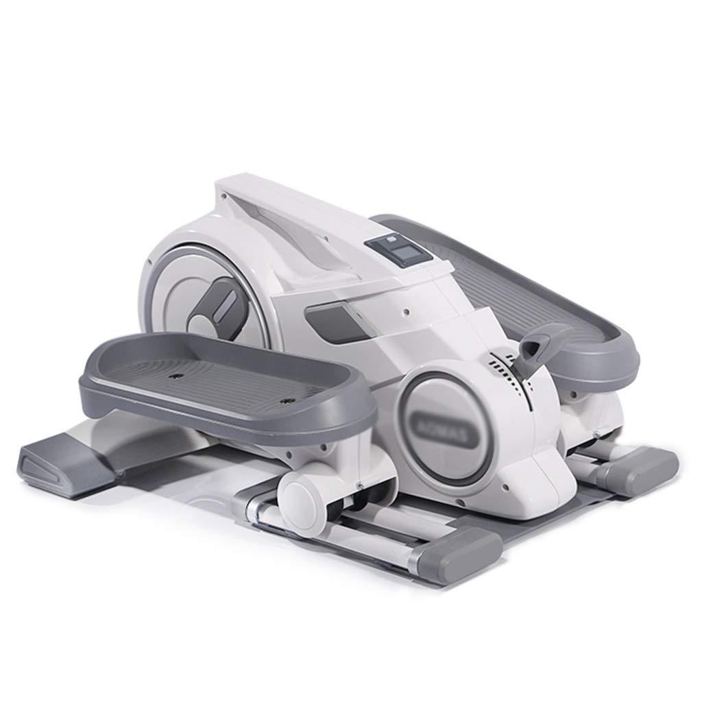 磁気ステッパー 家庭用フィットネス機器 屋内スポーツペダル 多機能減量機 8ファイル磁気抵抗調整 (Color : Gray, Size : 62*51*33cm) 62*51*33cm Gray B07QJ8KR33