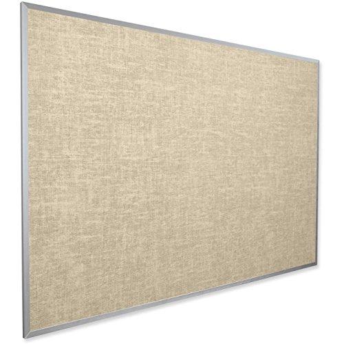 BestRite 4 x 8 Feet Vin-Tak Tackboard Aluminum Trim, Cotton (311AH-46)