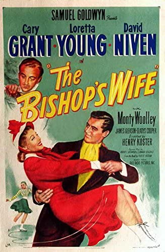 Amazon.com: The Bishop's Wife POSTER Movie (11 x 17 Inches - 28cm x 44cm) ( 1947) (Style B): Posters & Prints