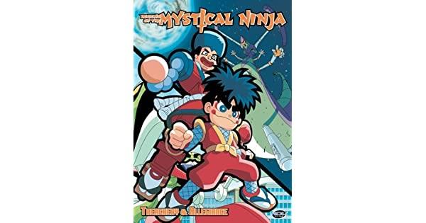 Amazon.com: Legend of the Mystical Ninja, Vol. 5: Treachery ...