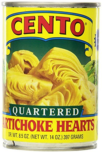 Cento Artichoke (Cento Quartered Artichoke Hearts in Brine, 14-Ounce Cans (Pack of 12) by Cento)
