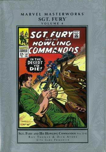 Marvel Masterworks: Sgt. Fury - Volume 4