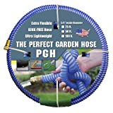 "Tuff-Guard The Perfect Garden Hose, Kink Proof Garden Hose Assembly, Blue, 5/8"" Male X Female GHT Connection, 5/8"" ID, 50 Foot Length"