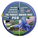 """Tuff-Guard The Perfect Garden Hose, Kink Proof Garden Hose Assembly, Blue, 5/8"""" Male x Female GHT Connection, 5/8"""" ID, 25 Foot Length"""