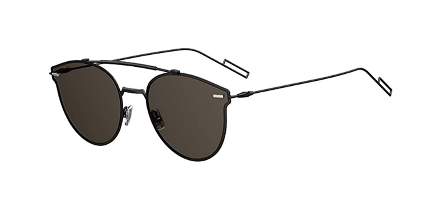 f82fbf19ae Amazon.com  New Christian Dior Homme PRESSURE 807 2K Black Sunglasses   Clothing