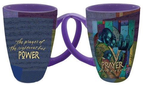 Mug-Latte Mug-Prayer Warriors (16 Oz)
