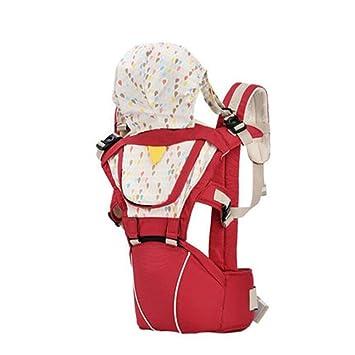 Mochila para llevar a tu bebe Manos libres - de diseño Ergonómico con Múltiples posiciones - Se adapta a medida que tu hijo crece , red: Amazon.es: Deportes ...