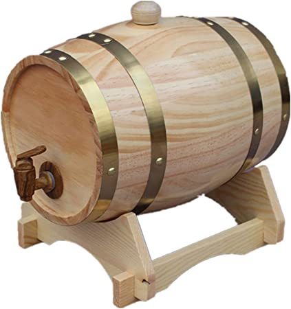 Barril de Roble Barril de Vino de Madera 10L Whisky Barrel ...
