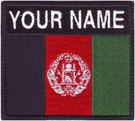 AFGHANISTAN FLAG PATCH BADGE IRON ON NEW EMBROIDERED