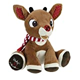 Rudolph Baby's First Christmas Plush with Music and Lights