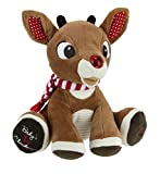 Kids Preferred Rudolph Baby's First Christmas Plush with Music and Lights