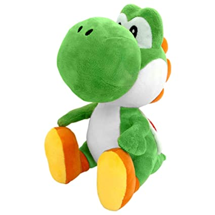 imahou 18cm Super Mario Bros Green Yoshi Peluches de Peluche ...