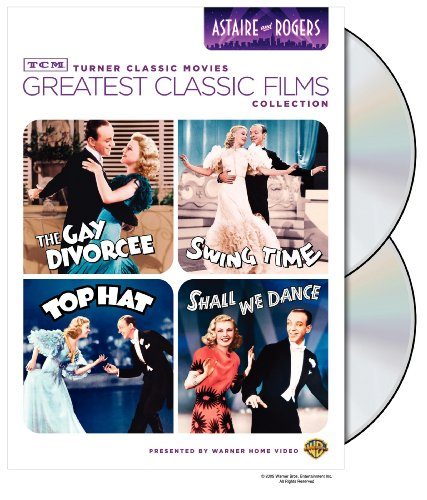 Amazon Com Tcm Greatest Classic Film Collection Astaire Rogers The Gay Divorcee Top Hat Swing Time Shall We Dance Astaire Fred Rogers Ginger Movies Tv