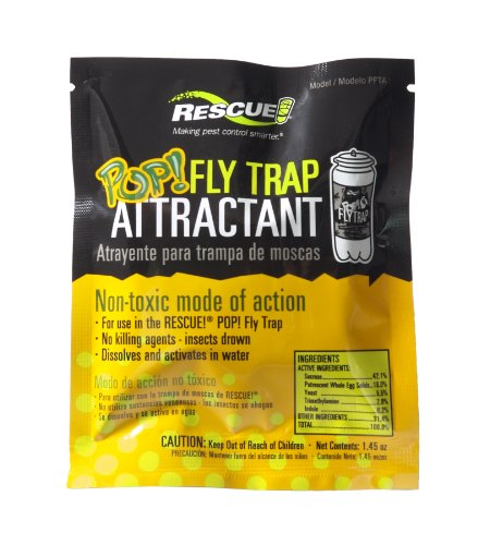 Fly Trap Bait (RESCUE! PFTA Non-Toxic POP Fly Attractant)