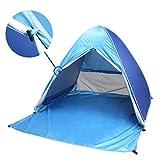 Pop Up Beach Tent,PortableFun UV Sun Tent,Instant Tent,Portable Sun Shelter,2-3 Person Camping Tent