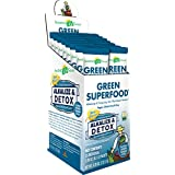 Amazing Grass Green SuperFood Alkalize & Detox, Box of 15 Individual Servings, 0.28 Ounces