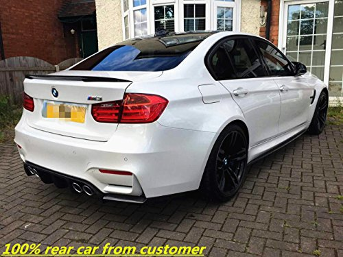 (F8X M3 M4 Rear Diffuser Valance//VOR Style Carbon Fiber Diffuser// 3-pc Set for BMW M4)