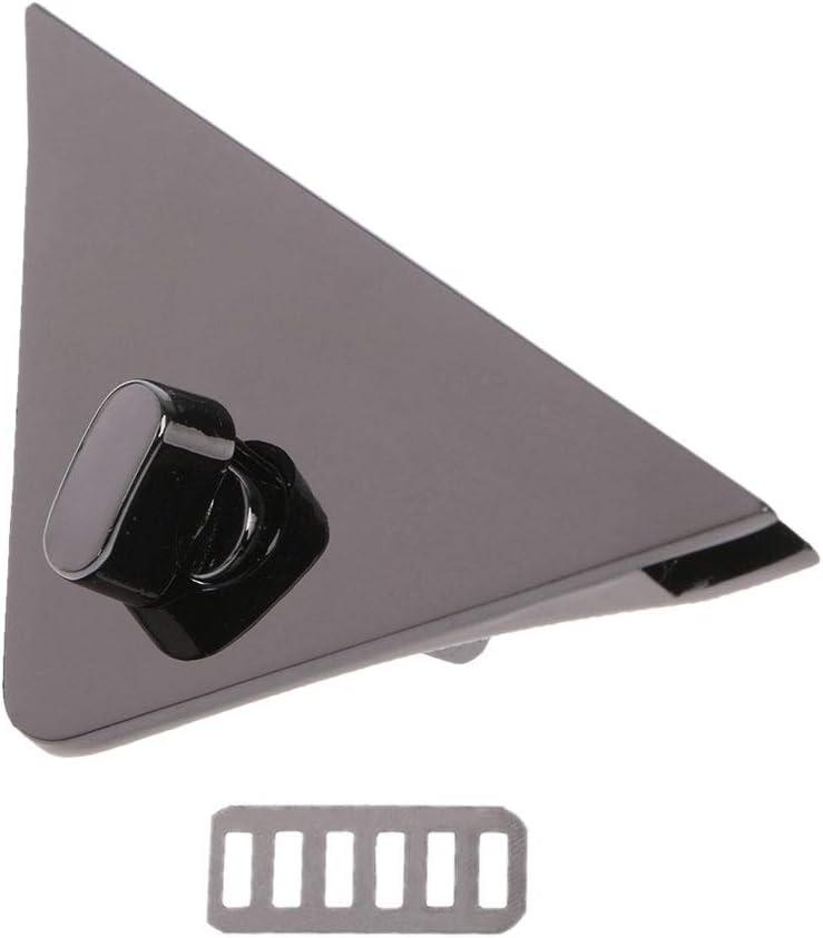Hebilla de Bolsa NUEEUDD 1 Pieza Cierre de Forma de tri/ángulo DIY Cerradura de Giro Cerraduras giratorias para Bolso Bolso Bandolera Bolso Plata