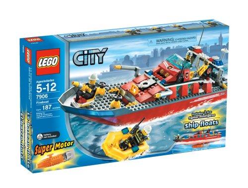Amazon Lego City Fireboat Toys Games