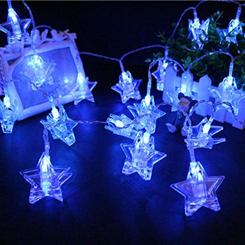 300 Blue Led Icicle Lights in US - 9