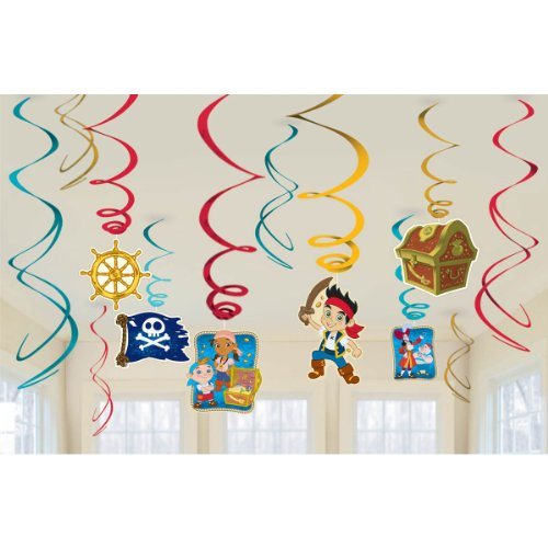 Jake and the Never Land Pirates Hanging Party Decorations, Party (Future Themed Costume Ideas)