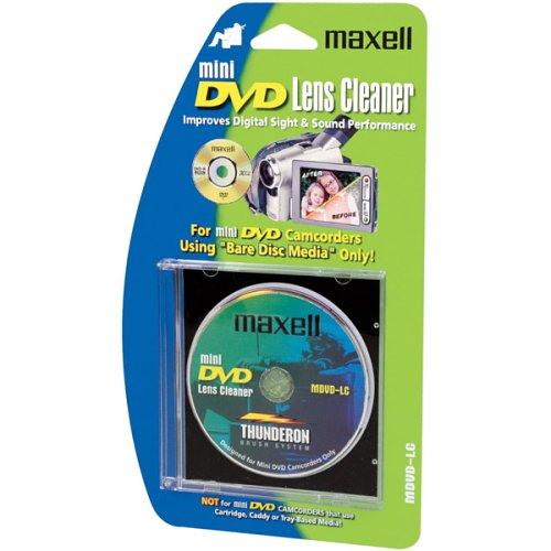 Maxell Lens Cleaner (MVDV-LC) (MDVD-LC) (Maxell Cd Disc Cleaner)
