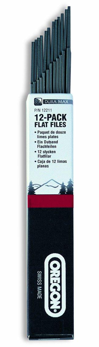 Oregon 12211 6-Inch Flat Depth-Gauge File, 12-Pack