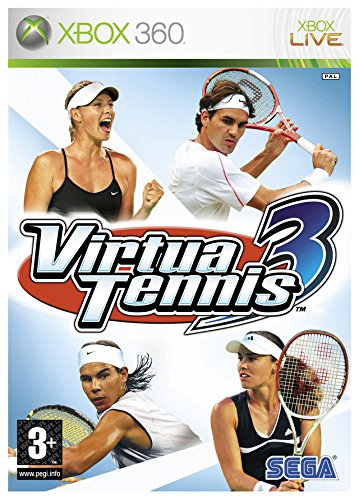 Virtua Tennis 3 Xbox 360 product image