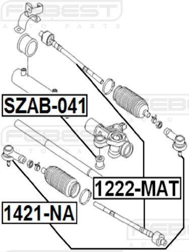 amazon 4666034000 tie rod end febest 1421 na 1 year Diesel Fuel System amazon 4666034000 tie rod end febest 1421 na 1 year warranty automotive