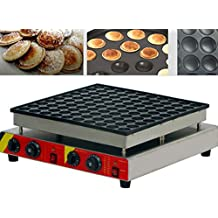 Newtry NP-543 100pcs Commercial Electric non-stick stainless steel Poffertjes Grill, Dutch Mini Pancakes baker, Waffle Toaster, waffles machine (220V)