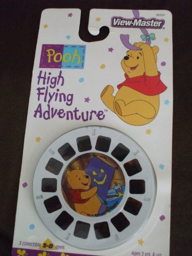 View Master Disney Winnie The Pooh - High Flying Adventure 3 Reel Set by View Master