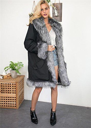 Gris Akaufeng Manteau Femme Akaufeng Manteau Akaufeng Femme Gris Manteau Femme Akaufeng Gris Manteau 7nRq0gqA
