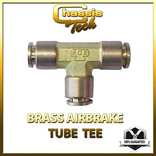 Chassis Tech Tee Union 1/2 tube x 1/2 tube x 1/2 tube