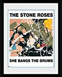 GB eye 8 x 6-inch The Stone Roses She Bangs The Drums Framed Photograph, Assorted