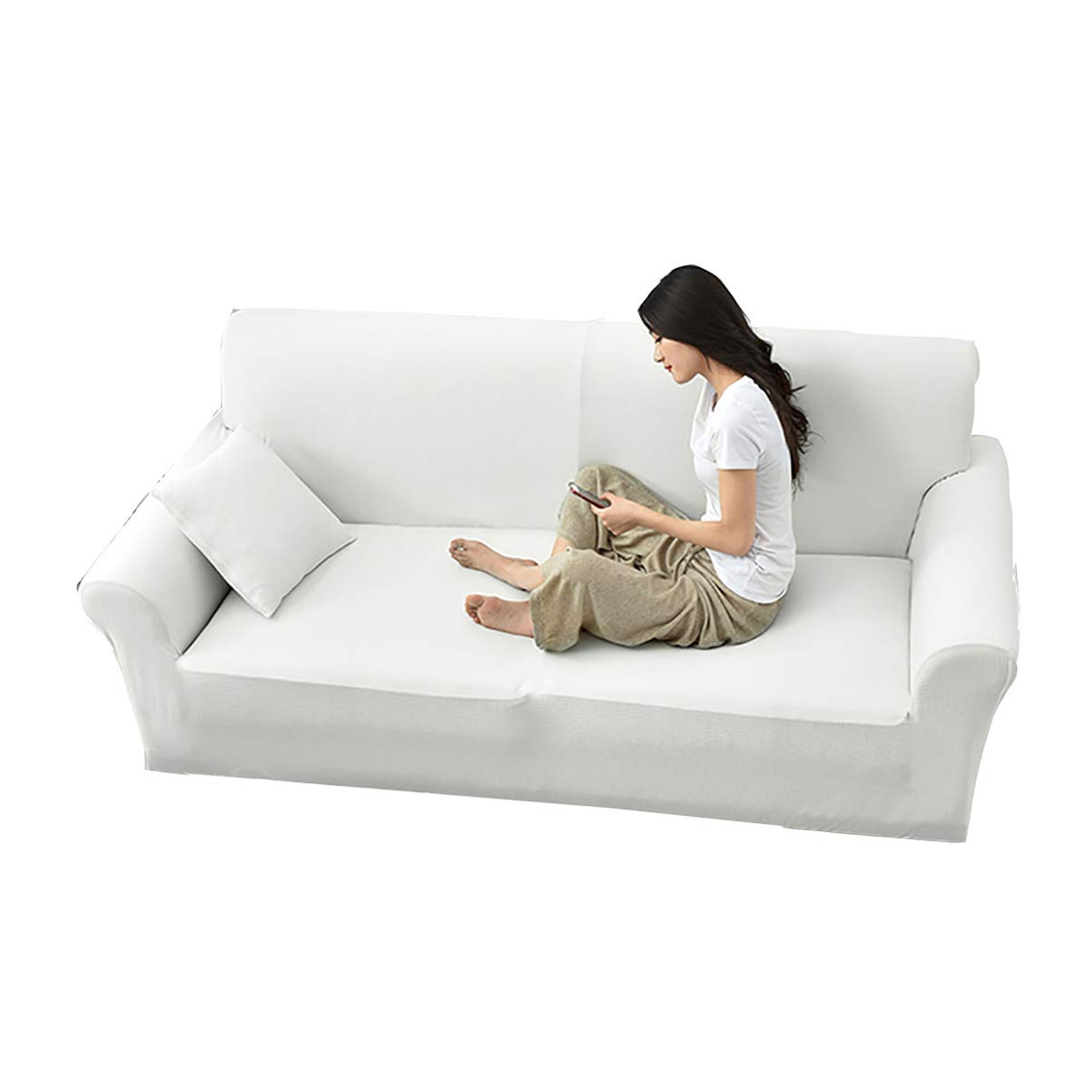 Amazing Amazon Com Dfamily Stretch Sofa Covers Water Repellent Dog Inzonedesignstudio Interior Chair Design Inzonedesignstudiocom