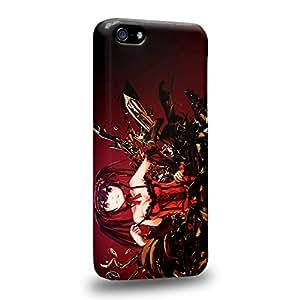 Case88 Premium Designs Date A Live Kurumi Tokisaki 1506 Carcasa/Funda dura para el Apple iPhone 5C