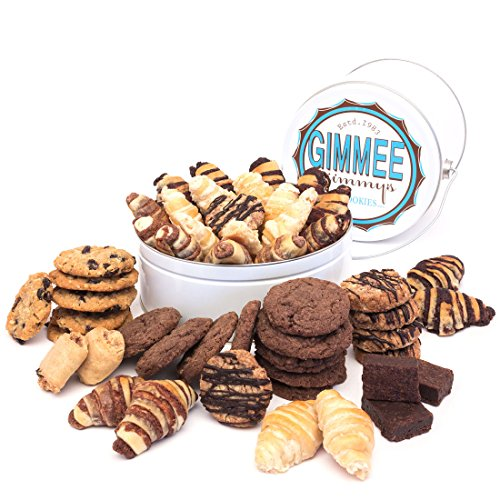 Fresh Baked Homestyle Chocolate Strudel Rugelach Gift  Gimmee Jimmy's Cookies and Gifts   3 Pound