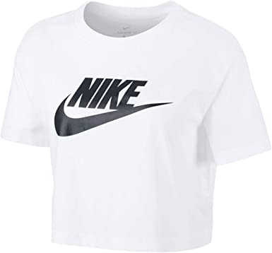 Nike Futura Icon Crop Top - Camiseta para mujer: Amazon.es: Ropa y accesorios