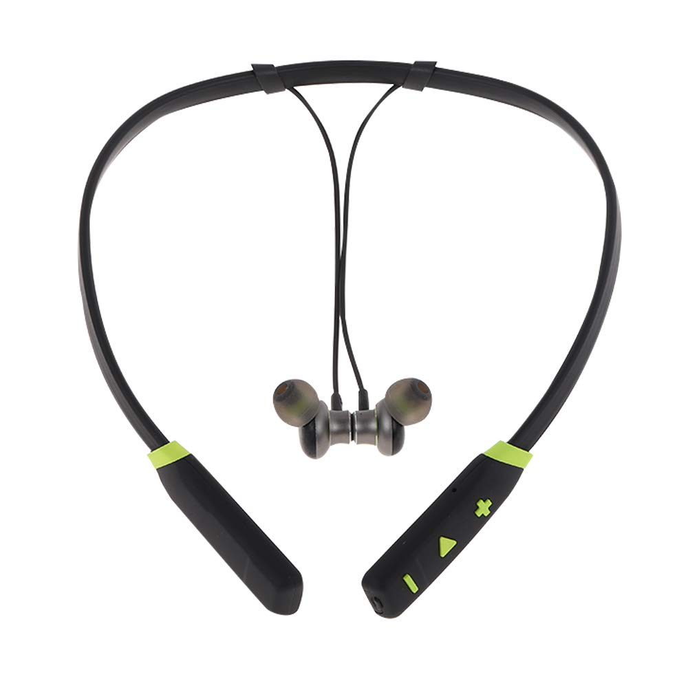 HYASIA V4.2 Bluetooth Headphones, Ultralight Wireless Neckband Headset, CSR 8635 Sport Stereo Earbuds, Sweatproof Earphones Bulit-in Mic Earphones for Cellphones Like iPhone X/ 8/7 Plus.