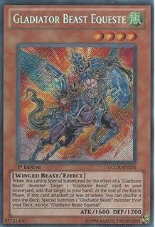 Yu-Gi-Oh! - Gladiator Beast Equeste (LCGX-EN251) -