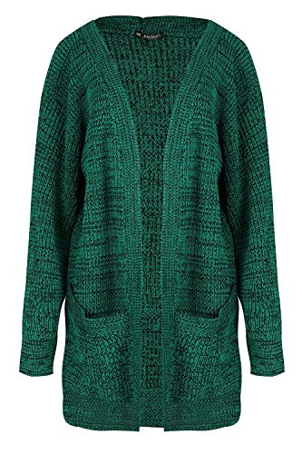 Grosse Femmes Boyfriend Cardigan p Oops Tricot Outlet Femmes Maille Baggy Ouvert Grand wXw7t